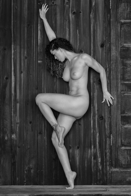 Nude on Wood