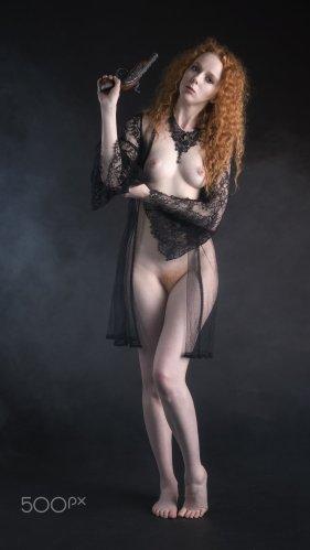 Anne Bony, the redhead pirate