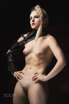 Penthesilea, the queen of the Amazons actress and model Keira Lavelle